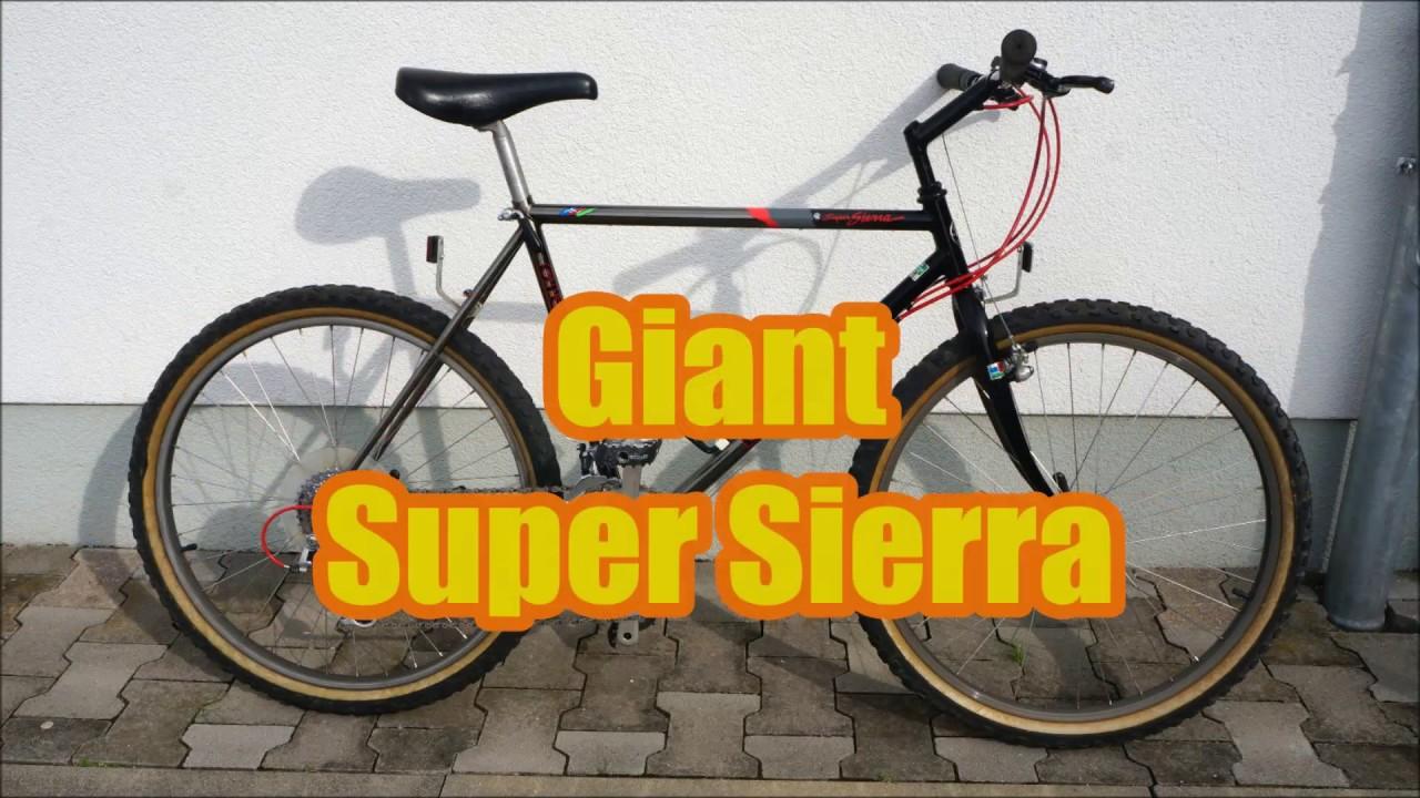 Giant Super Sierra 1989 Cr Mo Tube 39 1080hd Pics