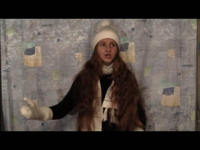 Изображение предпросмотра прочтения – ЕвгенияПолухова читает произведение «Первый снег (Серебро, огонь и блёстки…)» В.Я.Брюсова