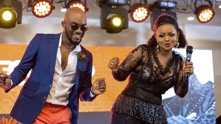 Mr Drew Drags Nana Ama McBrown & Akumaa On Dance Floor