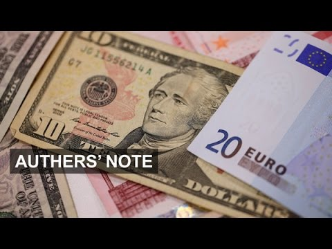 Falling currency reserves and Euro | Authers' Note