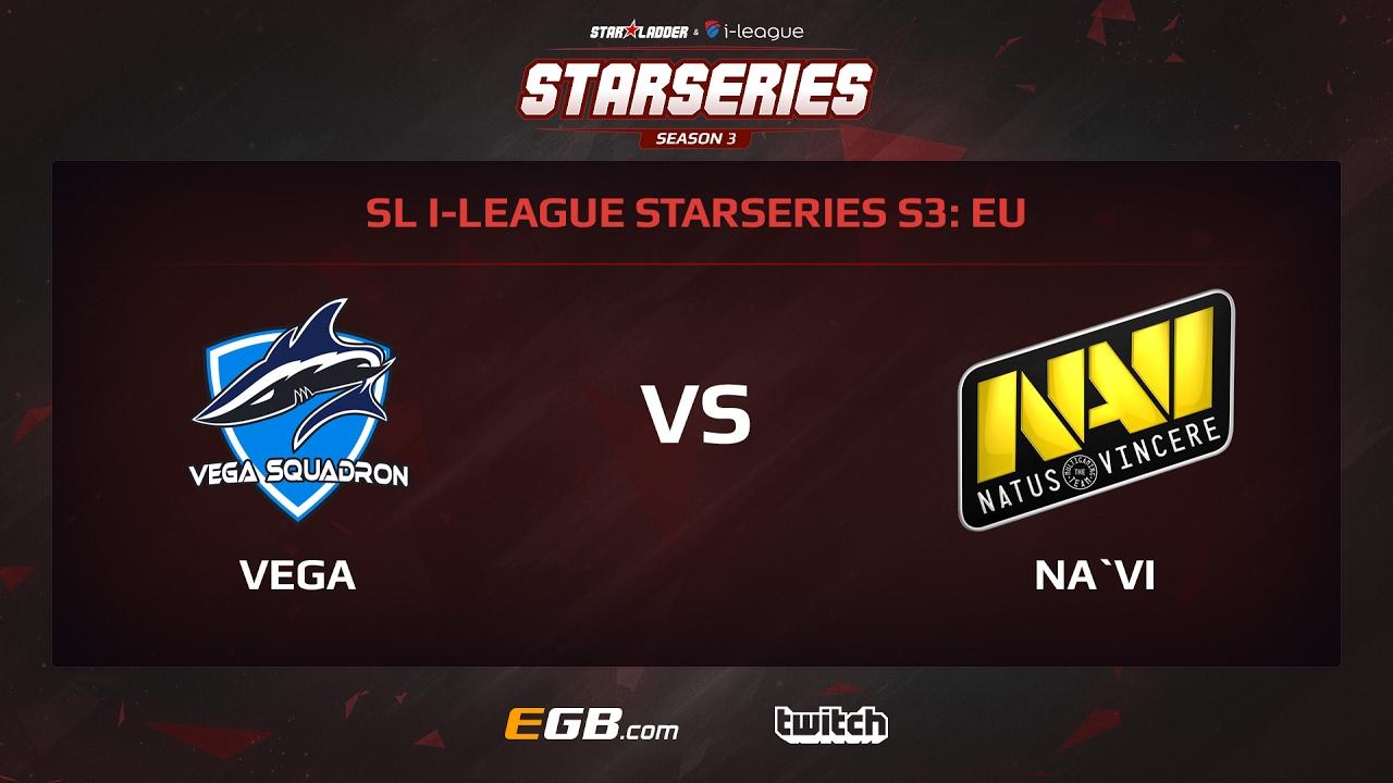 Vega Squadron vs Natus Vincere, Game 1, SL i-League StarSeries Season 3, EU