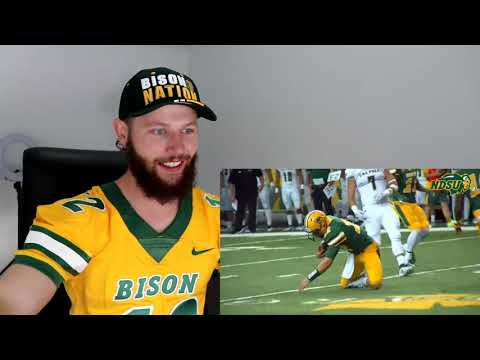 Rugby Player Reacts to NORTH DAKOTA STATE BISON FOOTBALL TEAM!