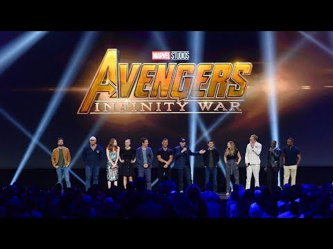 Thumbnail: HUGE Avengers: Infinity War cast gathering for Marvel panel at the D23 Expo 2017