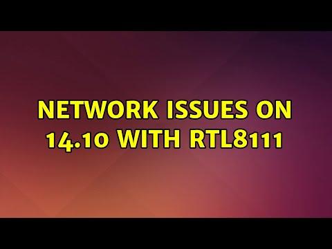 Ubuntu: Network Issues On 14.10 With RTL8111