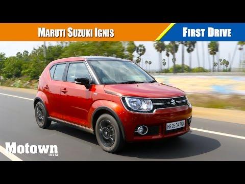 Maruti Suzuki Ignis First Drive