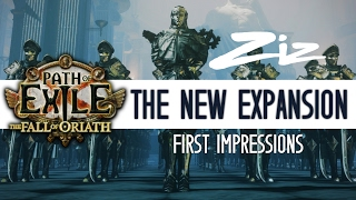 Ziz - First reaction to Fall of Oriath news!
