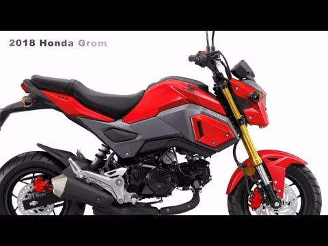 2018 Honda Grom Comes Restyled and More Powerful