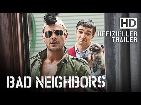 Bad Neighbors - Trailer deutsch / german HD