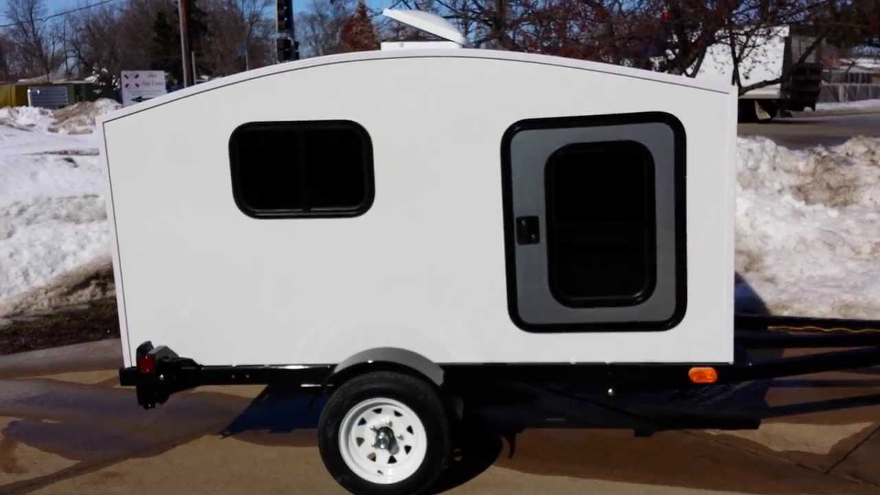 Tiny Camping Trailers thinking small can make life so simply simple getting out there and living the dream is all thats important if you can dream it you can do it Small Wonadaygo Camper Trailer For Sale From Saferwholesalecom Mini Camping Teardrop Youtube