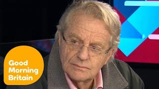 Jerry Springer Reacts To Donald Trump's Victory | Good Morning Britain