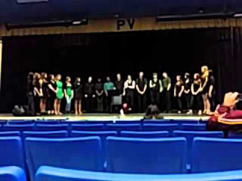 Parker and the Lakewood Ranch High School Acapella Club - 1st Song