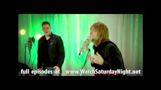 Thom Yorke (radiohead) parodied on Jimmy Fallon's SNL, Michael Buble Christmas Duets .