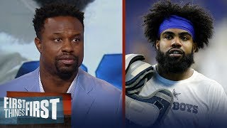 Bart Scott insists the Cowboys need to pay Zeke to save their season | NFL | FIRST THINGS FIRST