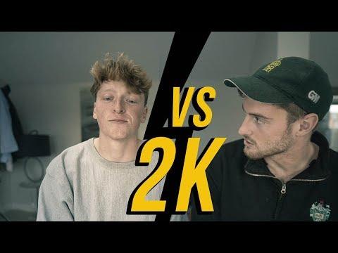 2K ROWING Test vs BEST FRIEND