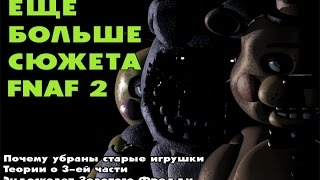 - Игровые Теории FNAF 2 Эндоскелет Золотого Фредди, FNAF 3,Старые игрушки