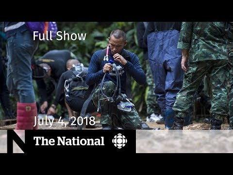 The National For Wednesday July 4 2018 Britain Poisoning Cave Rescue Steel Tariffs