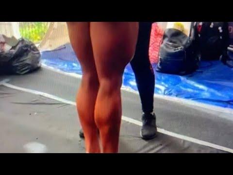 Victoria Vzvonaya Female Bodybuilder Super Hot Legs Win 2BrosPro Wellness Contest In The UK