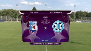 ŽNK SPLIT vs ZHYTLOBUD HARKIV 2:3 (1. kolo,kvalifikacije za Ligu prvakinja 19/20)