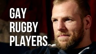 GAY RUGBY PLAYERS - James Haskell on Posing For Gay Mags, Sexuality & Rugby