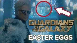 Guardians of the Galaxy Easter Eggs