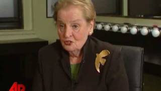 Albright: Many Difficulties Await Obama