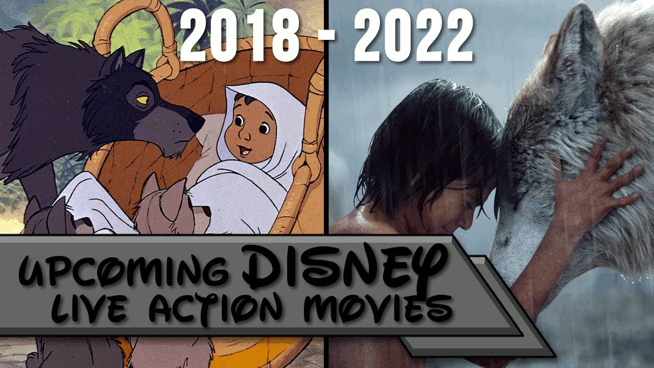 Upcoming Disney Live Action Movies 2018-2022 - YouTube