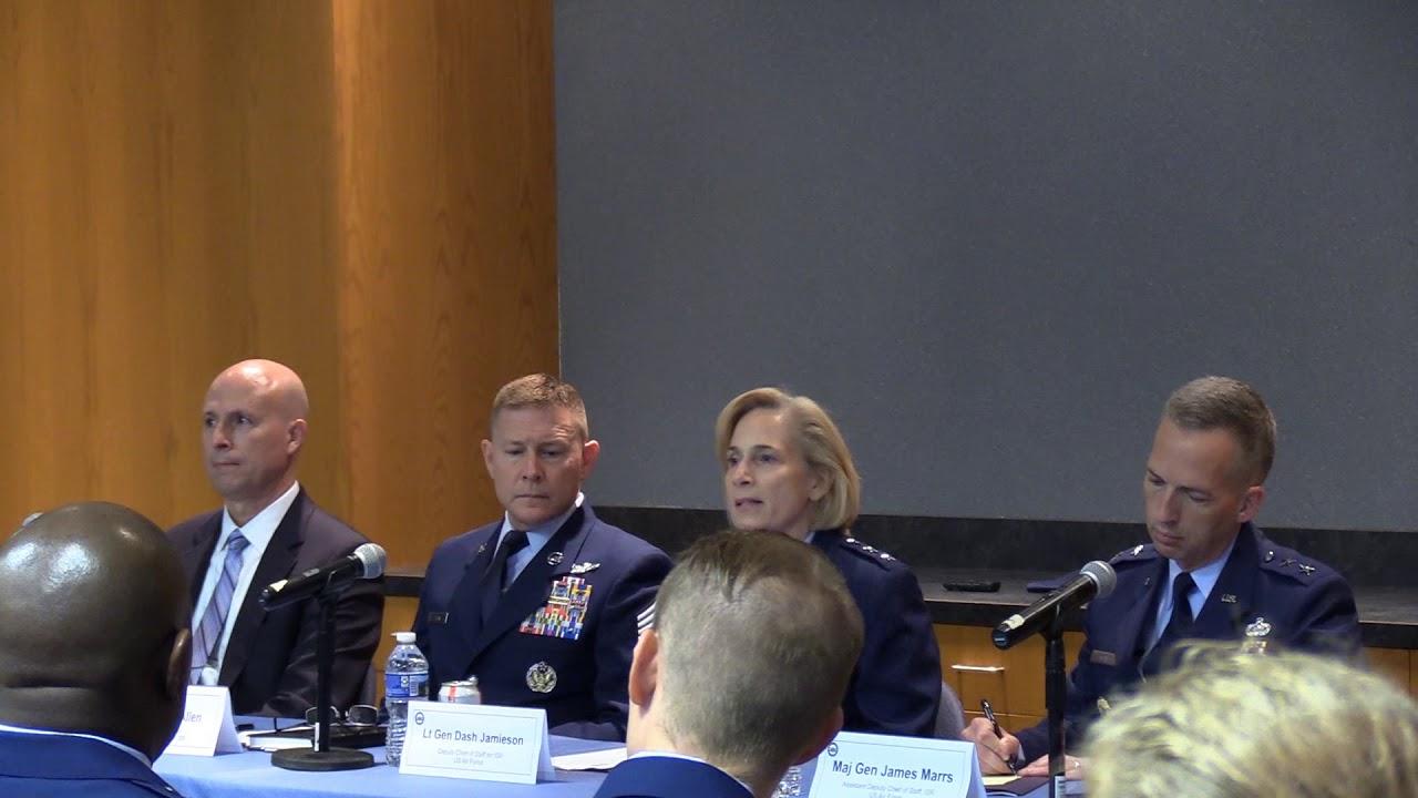 "Mitchell Hour: The ISR Flight Plan Roundtable   Lt Gen ""Dash"" Jamieson, Deputy Chief of Staff for ISR  August 2, 2018"
