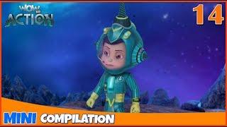 Vir The Robot Boy | Mini series | Compilation - 14 | 3D cartoon for kids | WowKidz Action