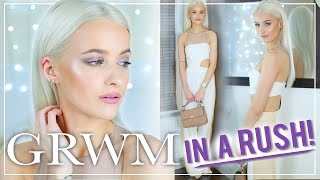 GET READY WITH ME Glam Event Makeup IN A RUSH  Makeup Tutorial hair and outfit GET READY WITH ME Glam Event Makeup IN A RUSH  Makeup Tutorial hair and outfit A full get ready with me for a Glam gala event this week I was in a ...