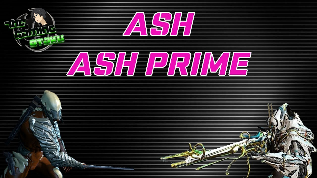 warframe how to build melee for ash