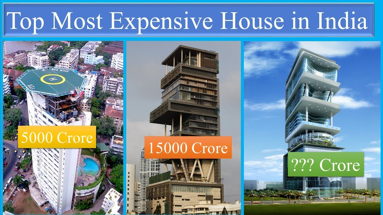 Top 10 Most Expensive House in India | Ulra Luxary Buildings in India | Antilia | Papa Construction