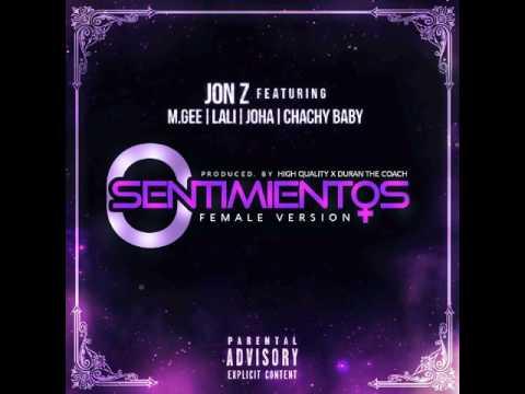 Jon Z - 0 Sentimientos ft. M. Gee, Joha, Chachy Baby, Lali (Female Version) (Audio)