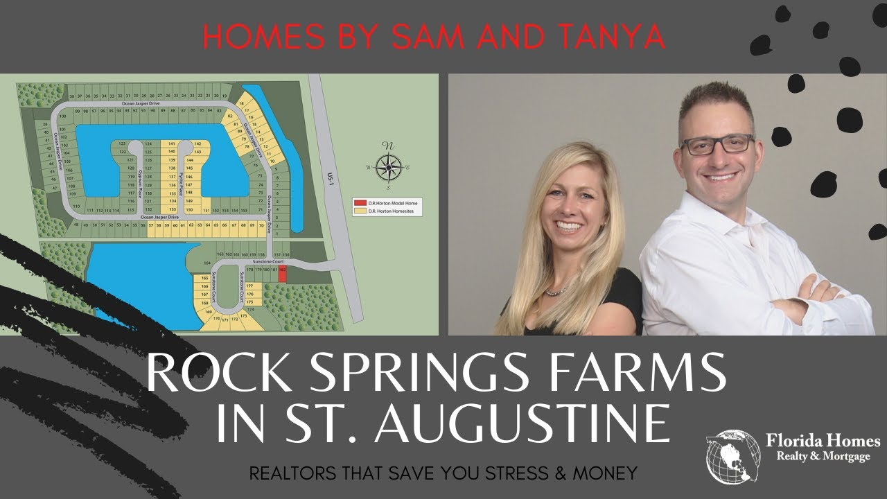 Rock Springs Farms Community In St. Augustine | Homes by Sam and Tanya