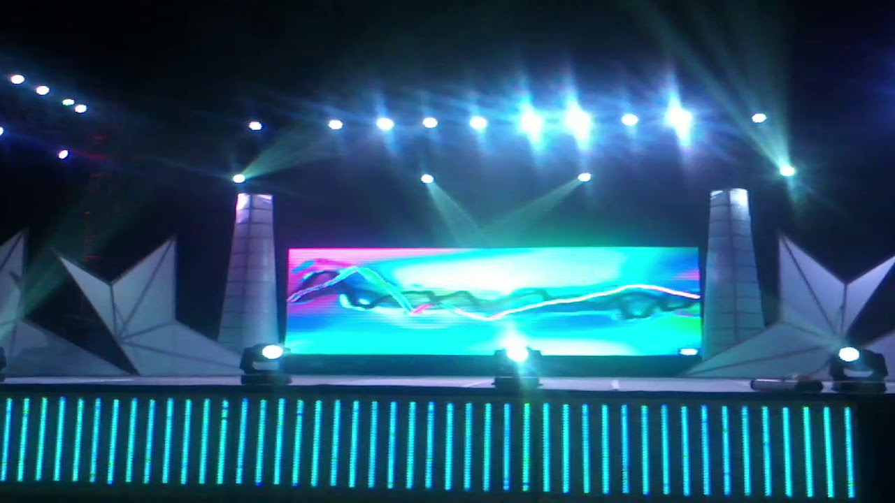 Different Design stage setup with dj light sound Led Video Wall 09990908622