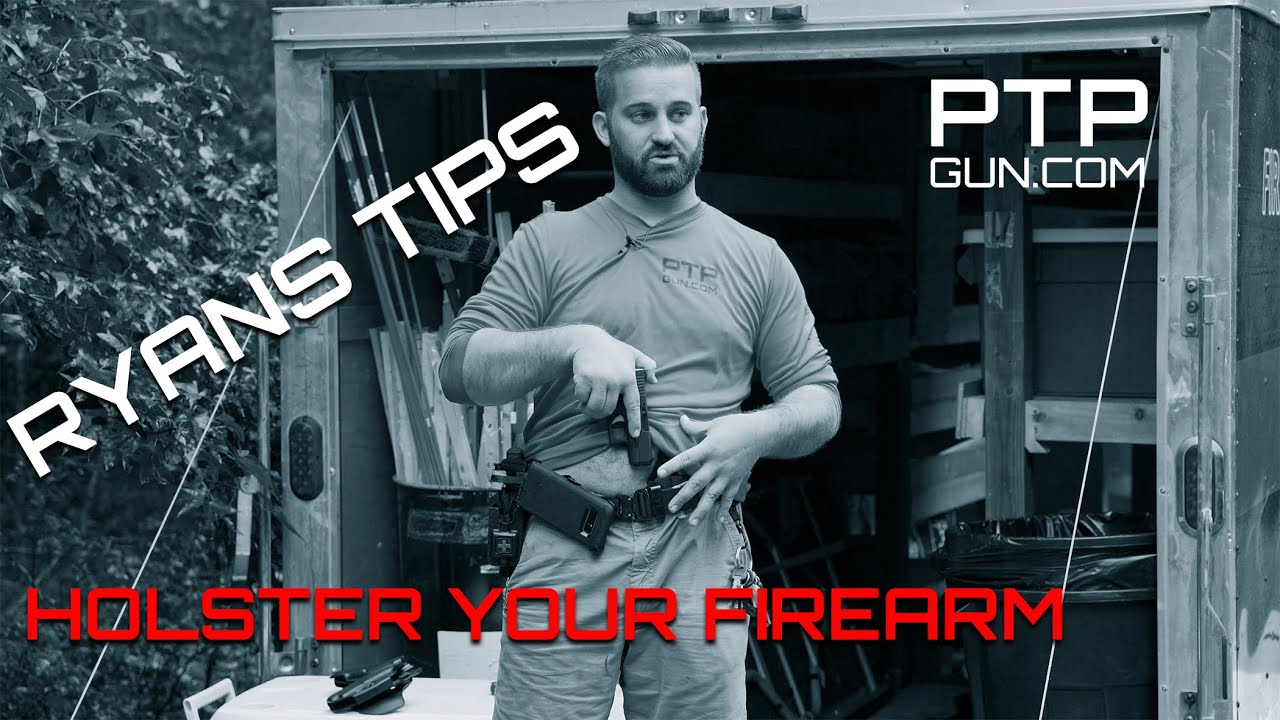Holster your Firearm, Talk with Ryan Gass