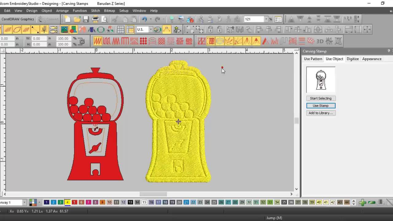 Wilcom EmbroideryStudio e3 0 Elements: Focus on Custom Splits