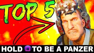 TOP 5 ZOMBIES EASTER EGGS THAT NOBODY DOES!! #2 | CALL OF DUTY ZOMBIES