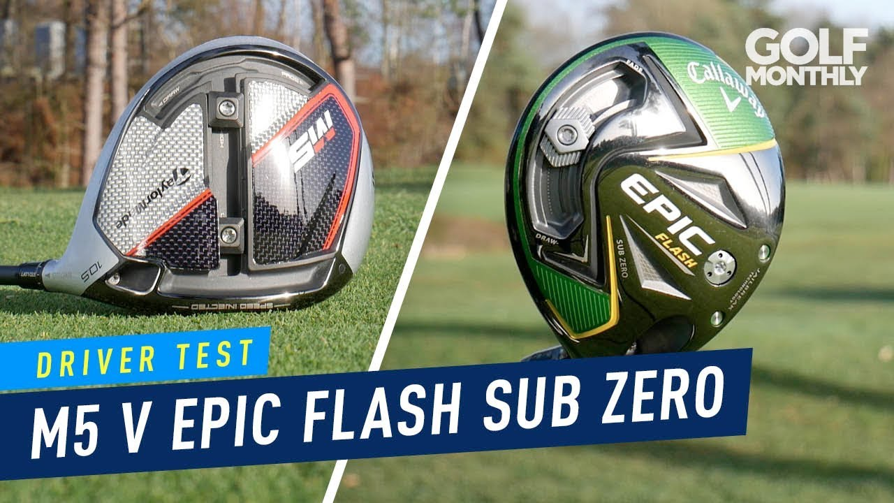 taylormade m5 v callaway epic flash sub zero driver test. Black Bedroom Furniture Sets. Home Design Ideas