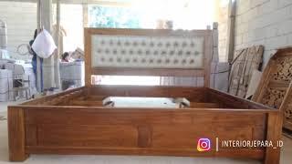 Tempat Tidur Minimalis Rakeeya 4 Laci 180x200 Cm.