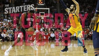 NBA Daily Show: Dec. 18 - The Starters thumbnail