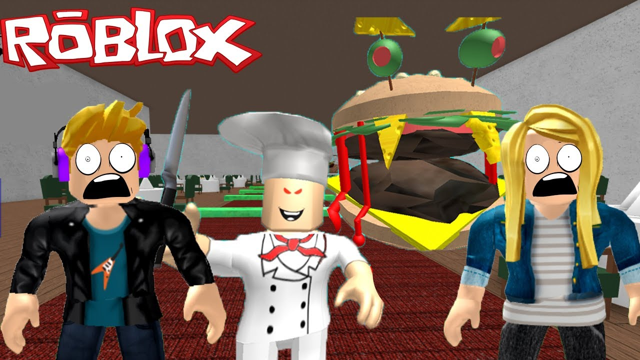 Escape The Evil Restaurant Obby Roblox Youtube