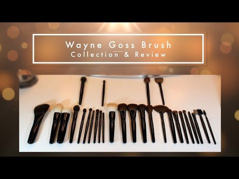 Entire Wayne Goss Brush Collection & Review | How I wash luxury brushes