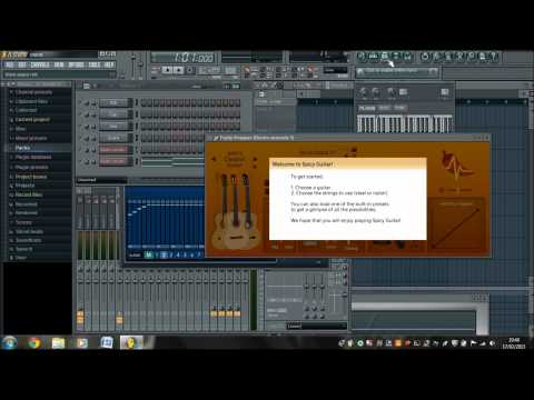 how-to-make-an-acoustic-guitar-sound-electric-through-fl-studio