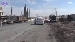 #أنا_أرى  آثار الدمار الذي خلفه قصف قوات النظام على حلب