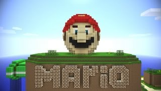 Super Mario speed run - Minecraft