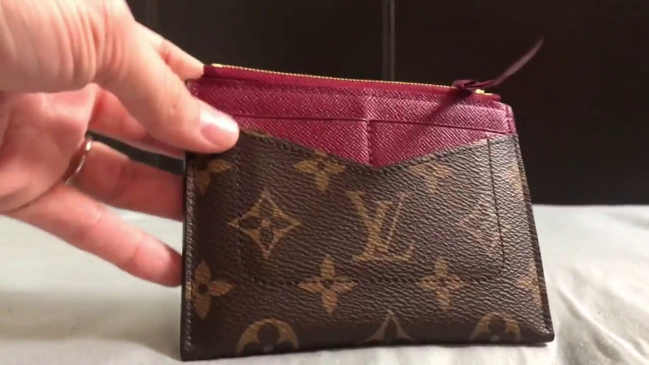ca200f45 Louis Vuitton Zipped Card Holder | What fits inside?