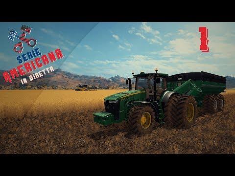 🚜Serie Americana in diretta #1 Benvenuti nella Mustang Valley Ranch!