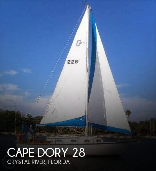 [SOLD] Used 1979 Cape Dory 28 in Crystal River, Florida