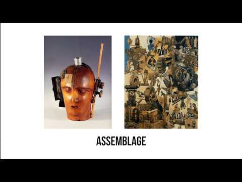 Assemblage - Art Vocab Definition