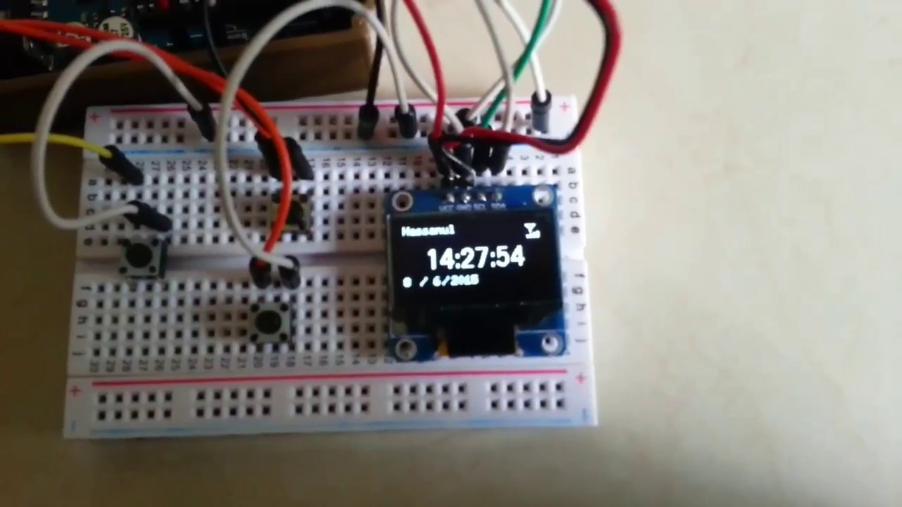 Arduino Smartwatch – DIY Projects